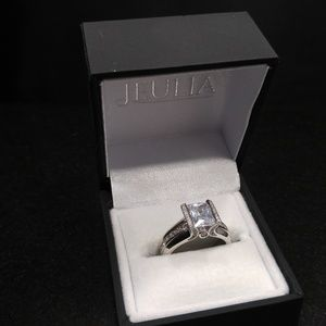 Jeulia Engagement Ring S925 Size 10 Sterling